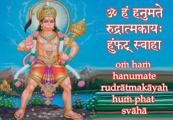 108 names of Hanuman - Dharmavidya