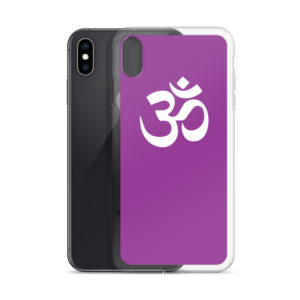 iPhone case with Om symbol